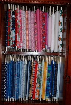 Organize Your Fabric Stash