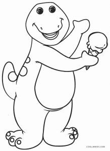 Free Printable Barney Coloring Pages For Kids Cool2bkids Dinosaur Coloring Pages Cartoon Coloring Pages Halloween Coloring Pages