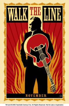Johnny Cash. Walk the Line.
