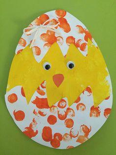 Spring Crafts For Kids, Easter Art, Bunny Crafts, Easter Crafts For Kids, Christmas Crafts For Kids, Easter Activities For Kids, Daycare Crafts, Preschool Art, Mobiles