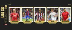 Koke, Ibrahimovic, Lewandowski, Kroos e Iniesta, candidatos al Balón de Oro