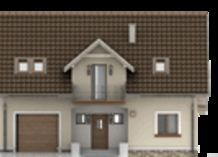 DOM.PL™ - Projekt domu HG-C1A CE - DOM AL1-60 - gotowy koszt budowy Home Design Plans, Shed, Outdoor Structures, House Design, Dom, Style, Architecture Design, House Plans, Home Design