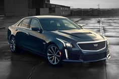2016 Cadillac CTS-V - It's the most powerful product in the company's 112-year history. In case you're not getting it, the 2016 Cadillac CTS-V is a screamer, delivering 640hp from a new supercharged 6.2L V-8 engine. | uncrate.com