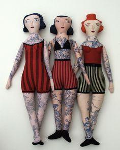 Tattooed Lady Dolls.