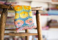 Knitting Color Theory with Brandon Mably on Creativebug #knitting #workshops