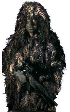 Bushrag The Complete Ghillie Suit Kit - Rothco - Right To Bear Arms Company