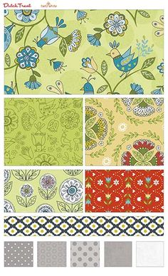 Dutch Treat  fabric line by Betz White for Riley Blake Designs—Subscribe to our newsletter at http://www.rileyblakedesigns.com/newsletter/