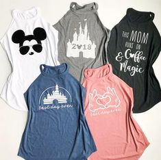 Disney high neck tank tops mickey fix Disney High, Disney Fun, Walt Disney, Disney Cruise, Disney Honeymoon, Disney Vacations, Disney Trips, Disney Vacation Shirts, Disney World Shirts