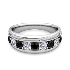 black and white wedding rings - Yahoo Image Search Results