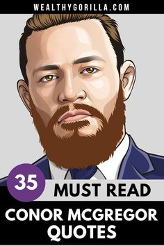 the notorious, conor mcgregor, the UFC master big hitter. We share some of the most inspiring quotes from Conor Mcgregor quotes. You'll be shocked at how success quotes can come from the most unlikely places. Entrepreneur or mma fighter? We think both! Inspirational Quotes About Success, Inspirational Quotes Pictures, Motivational Quotes For Life, Success Quotes, Motivation Quotes, Conor Mcgregor Quotes, The Success Club, Rich Quotes, Wealth Quotes