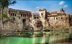 Ketas is a clump of old buildings situated on the road to Kallar Kahar near the town of Choa Saidan Shah in Pakistan. The site overlooks a shallow pond. Legends tell us that the pond was formed by the tears of Lord Shiva when his beloved wife Sati left this mortal world.