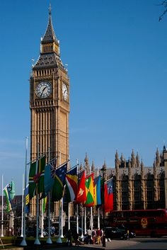 Commonwealth Day at Parliament Square;lONDON (LW19)