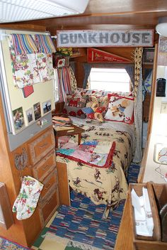 Decor ideas for cowboy camper