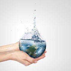 Wasser sparen - Tipps und clevere Wasser-Sparmöglichkeiten im Haushalt - http://freshideen.com/badezimmer-ideen/badeinrichtung/wasser-sparen-tipps.html