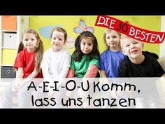 A-E-I-O-U Komm, lass uns tanzen - Singen, Tanzen und Bewegen || Kinderlieder - YouTube