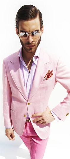 Real men wear pink...