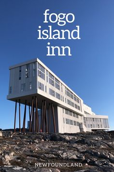 Experience the beauty of Fogo Island, Newfoundland, with a once-in-a-lifetime stay at one of Canada's most gorgeous luxury hotels — the Fogo Island Inn. Fogo Island Newfoundland, Newfoundland Canada, Newfoundland And Labrador, Alberta Canada, Slow Travel, Family Travel, Quebec, Fogo Island Inn, Gros Morne