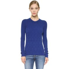 Maiyet Block Cashmere Sweater ($660) ❤ liked on Polyvore featuring tops, sweaters, mazarine blue, color block sweater, blue sweater, pullover sweater, blue cashmere sweater and crewneck sweater