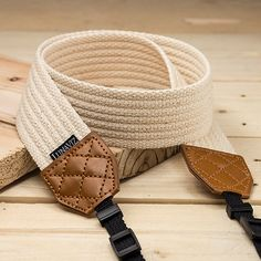 Items similar to Camera Strap - Rattanware Pattern for DSLR and Mirrorless Camera (White) on Etsy Sewing Leather, Leather Craft, Leather Wallet, Camera Accessories, Leather Accessories, Messenger Bag Patterns, Camera Neck Strap, Linen Bag, Fabric Bags