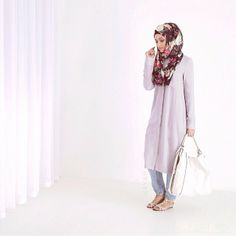 Modern grey shirt dress to suit your modest style needs ll http://www.inayahcollection.com/grey-shirt-dress-p-1155.html
