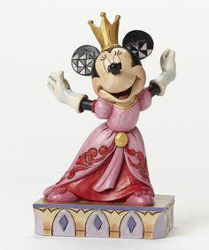 Disney Minnie Queen for a Day Figurine