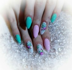 Flowers naills