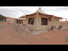 Drive into the Luxurious Desert Nights Camp (Sharqiyah Sands, Oman)
