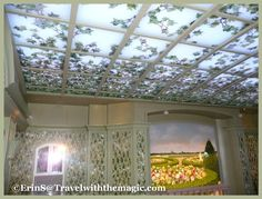 Disney Cruise Lines - Enchanted Garden