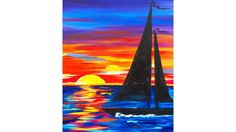 Acrylic Painting for Beginners Step by Step New Över 1 000 Bilder Om the Art Sherpa Full Art Lesson Sailboat Painting, Easy Canvas Painting, Acrylic Painting Lessons, Simple Acrylic Paintings, Acrylic Painting Tutorials, Acrylic Art, Painting Techniques, Diy Painting, Watercolor Paintings