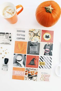 Scrapbook Sunday: October Messy Box - A Beautiful Mess You Make Beautiful Things, Beautiful Mess, Scrapbook Blog, Pocket Scrapbooking, Halloween Diy, Happy Halloween, Project Life Travel, Creative Crafts, Diy Crafts