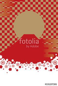 ベクター: ニッポンの背景点 New Year Postcard, Web Design, Graphic Design, Sale Promotion, Packaging Design, Seasons, Create, Cards, Poster