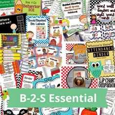 Educents is having a BIG bundle sale today through Saturday.  There are packets for Pre-K through 8th Grade! www.educents.com/management-decor-organization-oh-my.html#0987