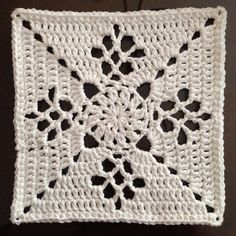 Ravelry: Project Gallery for Victorian Lattice Square pattern by Destany Wymore