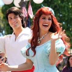 This dress here, this is the dress I don't hate on Ariel. :P