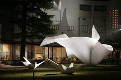 TOKYO BLOSSOMS installation - Design - Zaha Hadid Architects