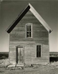 Wright Morris – Farmhouse near McCook, Nebraska, c.1939-40