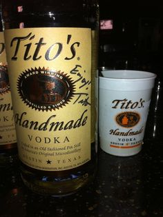Tito's Vodka Drinks at 2011 Party
