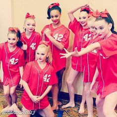 Added by #hahah0ll13 Dance Moms JoJo, Mackenzie, Brynn, Nia, Maddie, Sarah H., and Kendall K