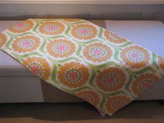 Baby Blanket - Crib or Toddler blanket (Heather Bailey) on Etsy, $63.40 CAD