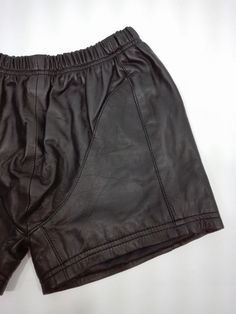 New Genuine Leather Boxers Underwear Summer Shorts Sweatpants Short Sexy Male…