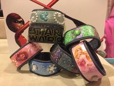 Customizing your Magic Bands allow you to display your unique Disney personality!