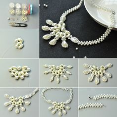 1080-Pandahall-Original-DIY-Project---How-to-Make-an-Elegant-White-Pearl-Bead-Flower-Necklace