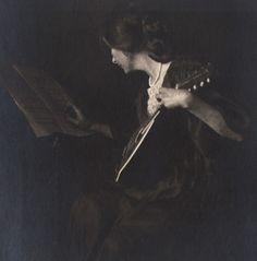 Melody by Anne Brigman