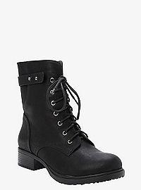 TORRID.COM - Lace-Up Combat Boots (Wide Width)
