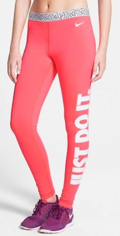 Nike compression workout pants 40% off