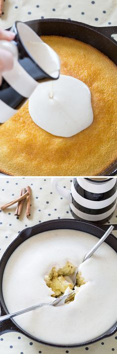 This recipe for Hot Milk Toast Cake is adapted from milk toast, an indulgent breakfast treat from my childhood! It's delicious, quick, easy, & cheap to make!
