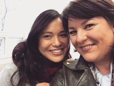 Angelle Chang (links) van JOW Fashion en Hermina de Vries van Wondervol