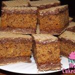 Finom öntött mézes Austrian Recipes, Hungarian Recipes, Condensed Milk Cake, Hungarian Cake, Cake Bars, Waffle Iron, Nutella, Banana Bread, Cake Recipes