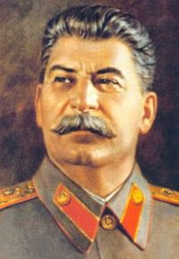 Joseph Stalin (ENTJ) Dictator of the Soviet Union. Responsible for millions of deaths (est. 10-30 million)!!!