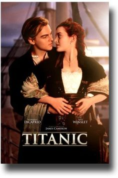 Titanic. Spectacular movie and movie score sung by Celine Dion!